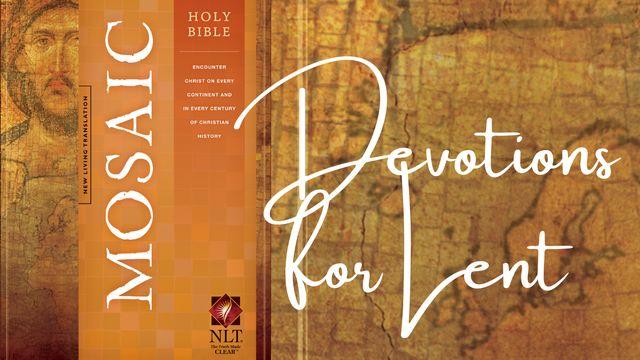 Devocionais para a Quaresma da Bíblia Sagrada: Mosaic