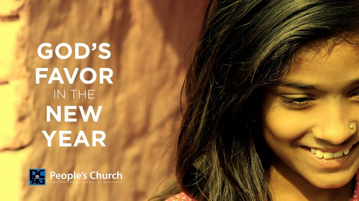 God's Favor In The New Year