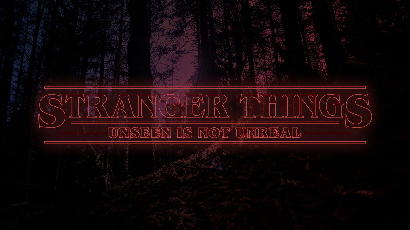Stranger Things - Unseen Is Not Unreal - What's really out there