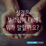 성경은 부르심에 대해서 뭐라고 말합니까?