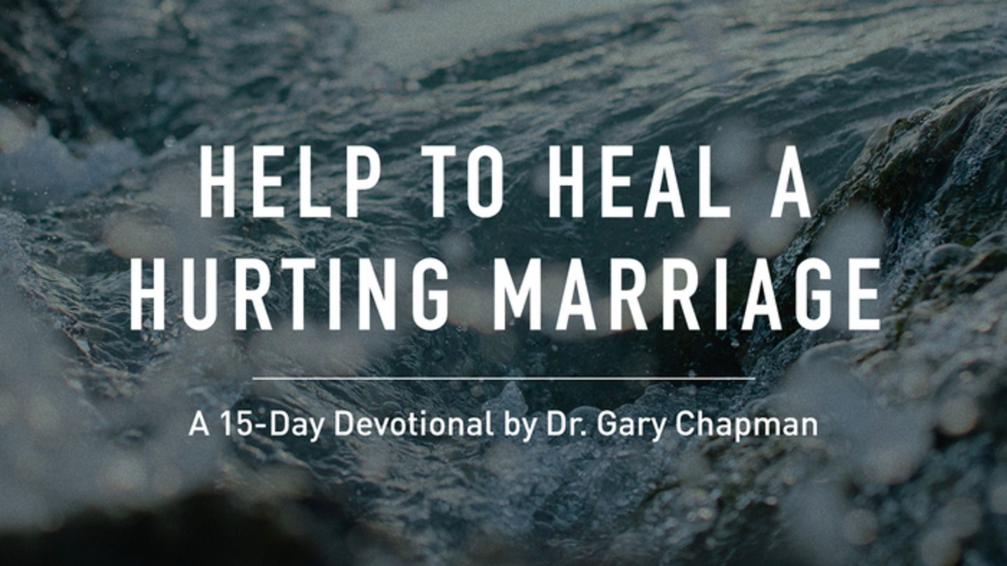 Help For A Hurting Marriage - A 15-day devotional drawing
