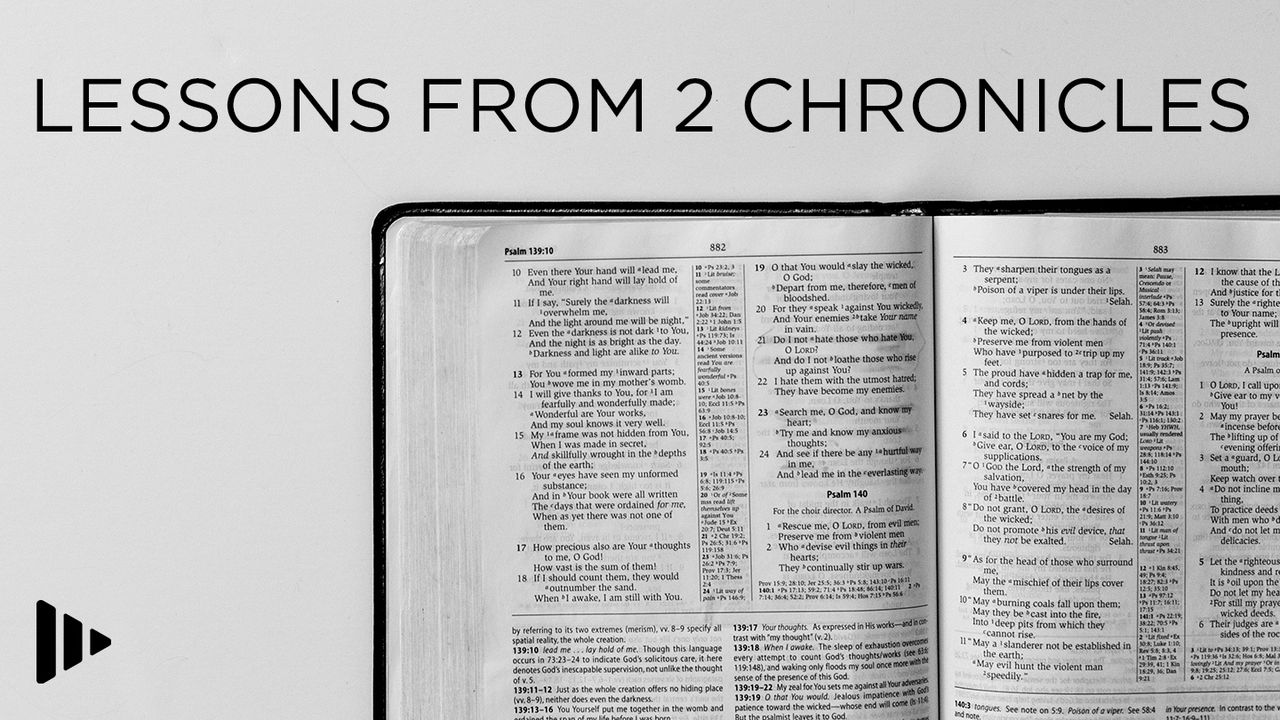 Lessons From 2 Chronicles: Devotions From Time Of Grace