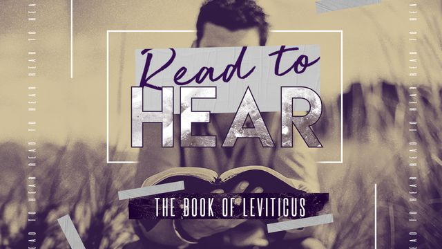Read To Hear: Leviticus