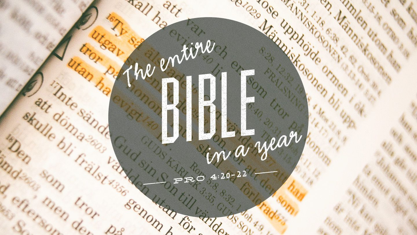 Eat this Book: One Year Bible with Daily Psalm - Following