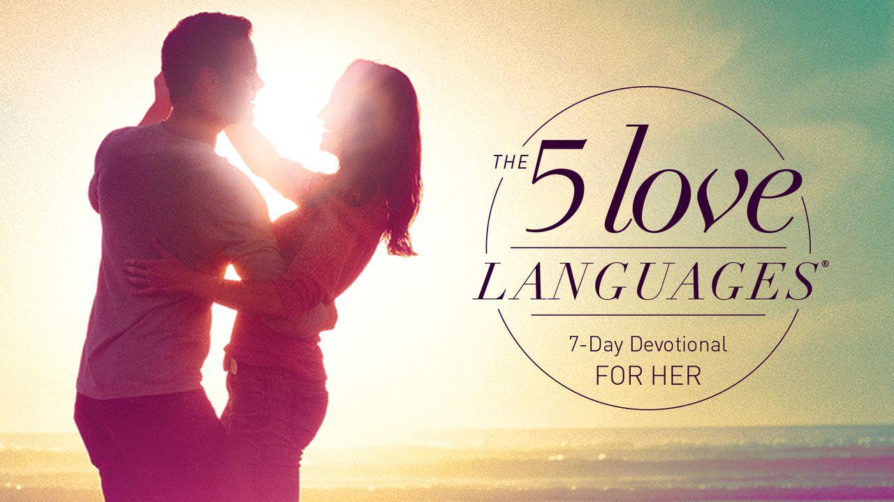 7 love languages
