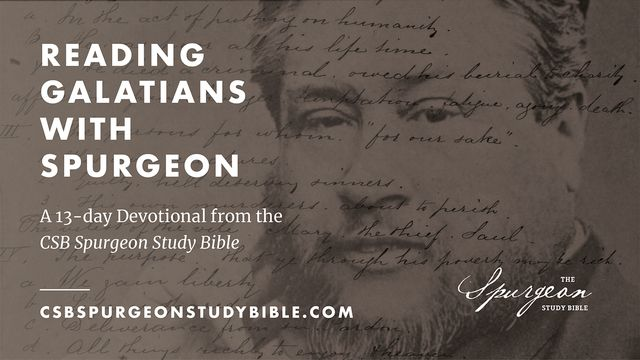 Reading Galatians With Spurgeon