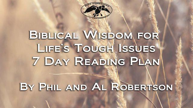 Bible Wisdom For Life's Common Struggles