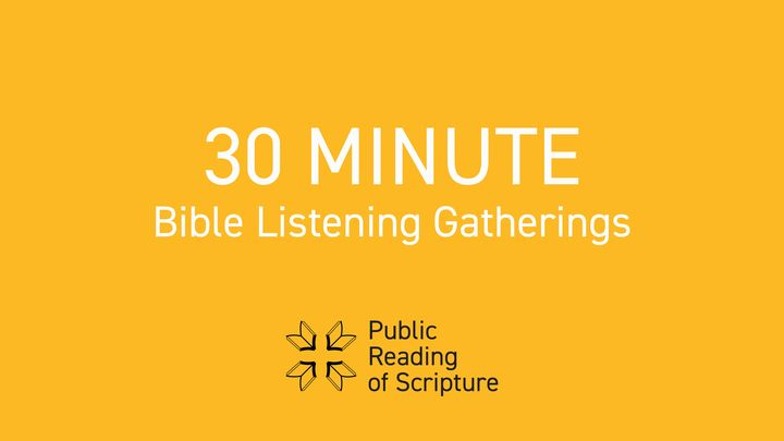 The Public Reading Of Scripture