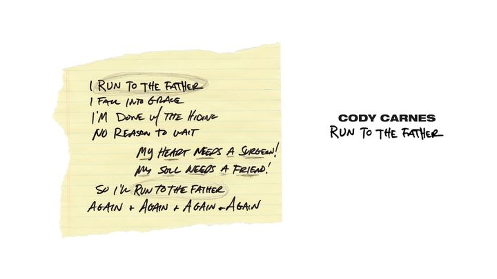 Cody Carnes - Run to the Father Devotional