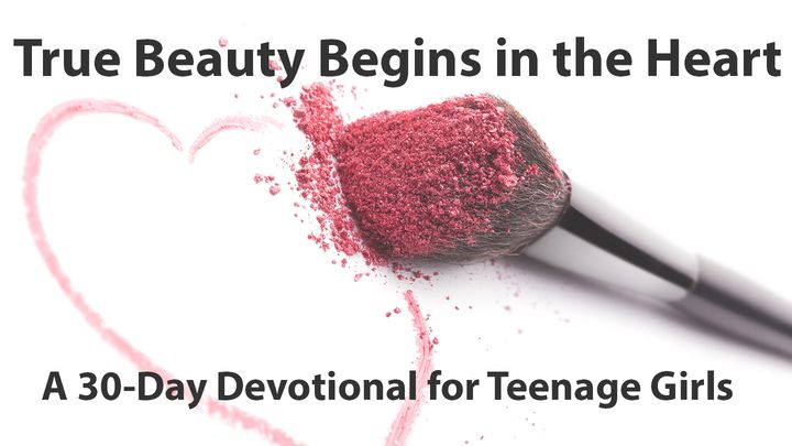 image regarding Printable Devotions for Tweens identify Genuine Natural beauty Starts off Within The Middle - A Devotional For Teenage