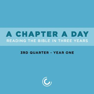 A Chapter A Day: Reading The Bible In 3 Years (Year 1