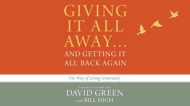 Giving It All Away…And Getting It All Back Again