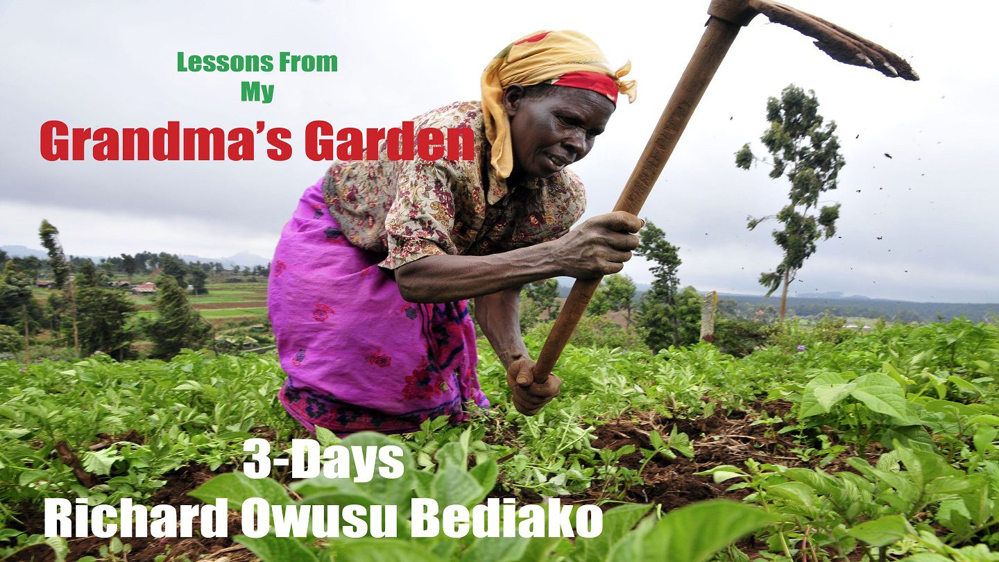 Lessons From My Grandma's Garden - During this 3-day devotional you