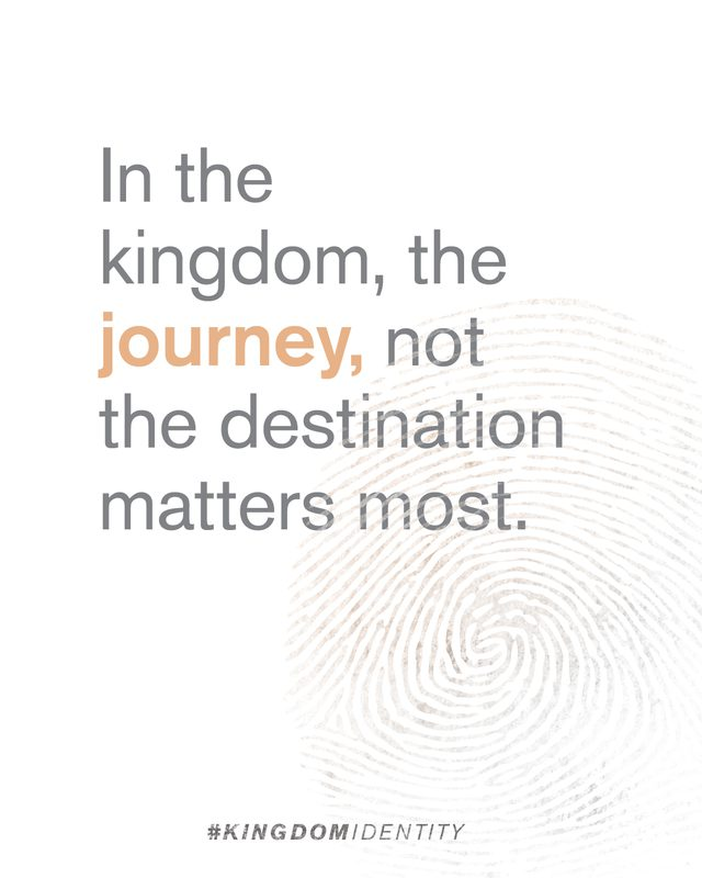 Kingdom Identity - People spend their lives trying to answer