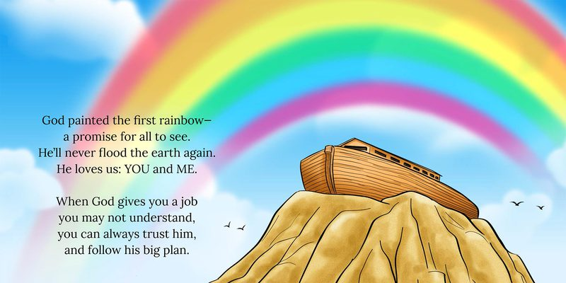The Big Flood: Noah And The Ark - Use the story of Noah ...